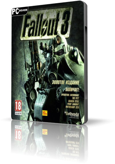 Fallout 3: Game of The Year Edition (2010)  лицензия