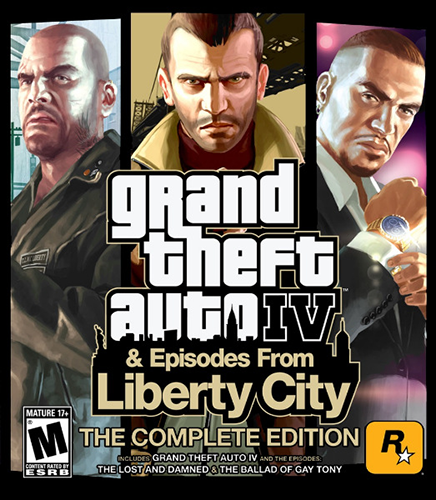 GTA 4 / Grand Theft Auto IV - Complete Edition [v 1070-1120] (2010) PC  Repack от xatab