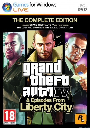 GTA 4 / Grand Theft Auto IV - Complete Edition [v 1080-1130]