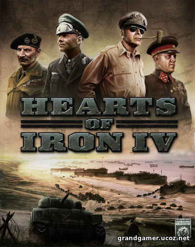Hearts of Iron IV: Field Marshal Edition [v 1.5.4 + DLC's] (2016/PC/Русский), RePack от xatab