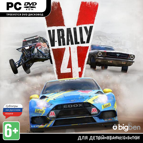 V-Rally 4: Ultimate Edition [v 1.0 + DLCs] (2018)