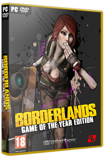 Borderlands: Game of the Year Edition (2010) PC | Steam-Rip от R.G. Игроманы