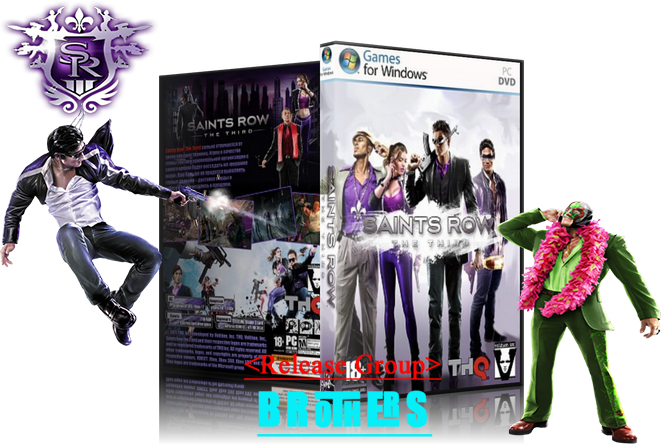Saints Row The Third (1.0.0.1) 2011 репак от (от R.G.BROTHERS )