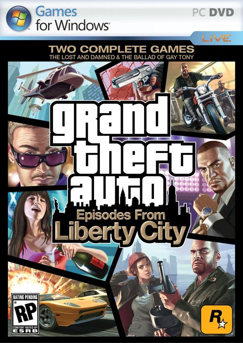 Grand Theft Auto IV:Episodes From Liberty City(v 1.1.2.0) (2010) Repackот JohnMc