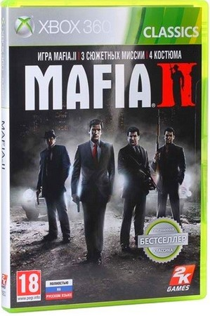 Мафия 2 / Mafia II Enhanced Edition (2010) XBOX360