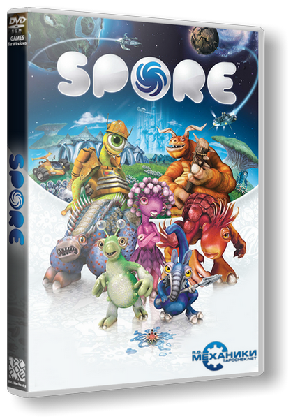 Spore: Complete Edition (2009) PC  RePack от R.G. Механики