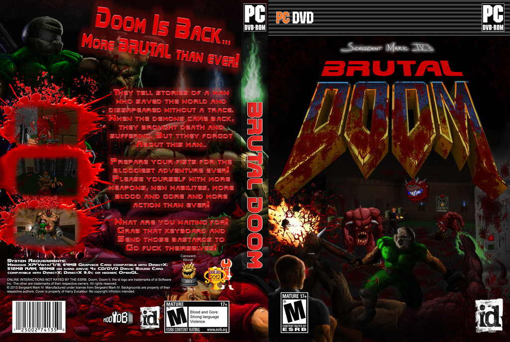 Doom - Brutal Doom [v19] (1993-2013) PC | Zandronum Co-op
