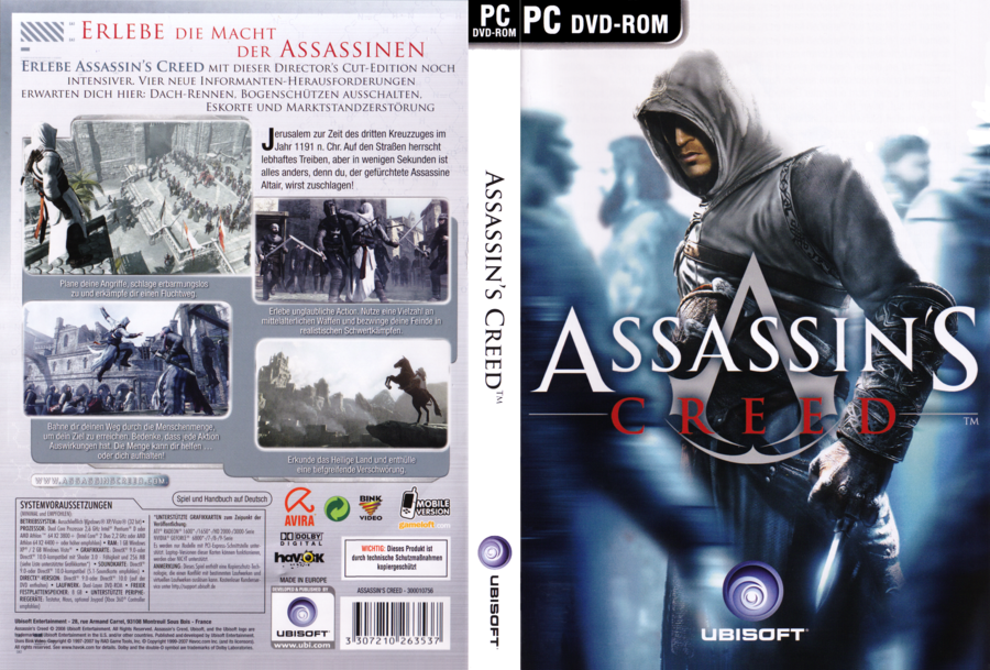 Assassin's Creed Director's Cut Edition (2008) PC | RePack